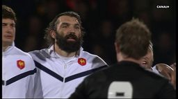 Le Haka des All Blacks face aux Bleus en 2009 : Canal Rugby Club
