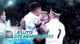 Calendrier : la lutte des hémisphères : Canal Rugby Club