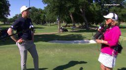 """Berger : """"J'ai énormément travaillé pour arriver à ce résultat"""" - Charles Schwab Challenge : PGA Tour Charles Schwab Challenge"""