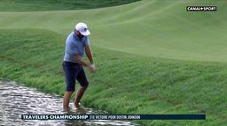 Dustin Johnson prend un bain de pieds : Golf+ Le Mag