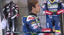 Johann Zarco en reprise sur le circuit de Catalunya : Extrait Sport Reporter