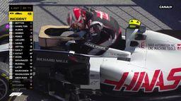 Sortie de piste pour la HAAS : #AustrianGP