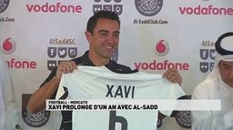 Xavi prolonge d'un an avec AL-Sadd : Transfert