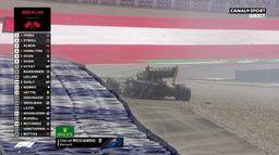 Énorme crash de Daniel Ricciardo