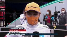 Lando Norris quel finish !