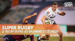 Victoire des Brumbies après la sirène face aux Reds : Super Rugby