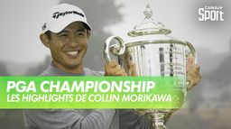 Les highlights du vainqueur Collin Morikawa : PGA Championship 2020 - Harding Park