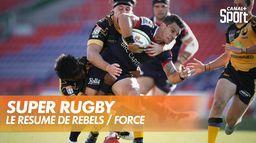 Le résumé de Rebels / Force : Super Rugby