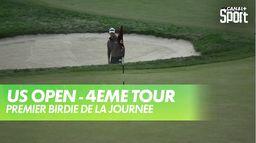 Premier birdie de la journée pour English : US Open - 4eme tour