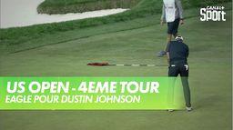 Eagle pour Dustin Johnson : US Open - 4ème tour