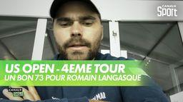 Un bon 73 pour Romain aujourd'hui : US Open - 4ème tour