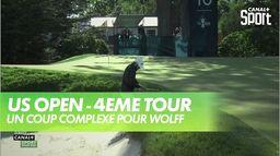 Un coup très complexe pour Wolff : US Open - 4ème tour