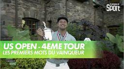 """Les premiers mots de Bryson DeChambeau après son succès """"Majeur"""" : US Open - 4ème journée"""