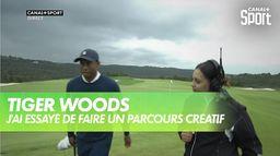 """Tiger Woods """"j'ai essayé de faire un parcours créatif """" : Payne's Valley Cup"""