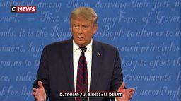 Les temps forts de Donald Trump pendant le débat