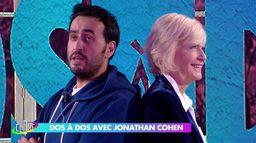 Jonathan Cohen dos à dos avec Catherine Ceylac