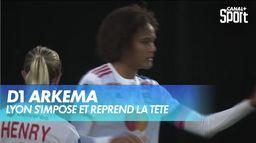 Lyon reprend la tête du championnat : D1 Arkema