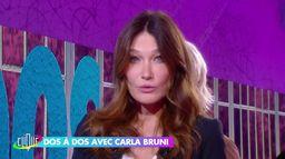 Carla Bruni dos à dos avec Catherine Ceylac