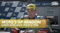Sam Lowes se relance pour le Championnat du monde : Grand prix d'Aragon Moto 2