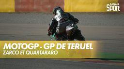 Les Français se suivent aux essais : Moto GP
