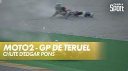 Drapeau rouge pendant la séance Moto 2 ! : Grand Prix de Teruel