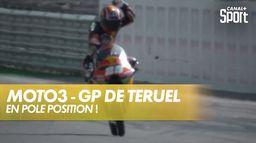 Raúl Fernández comme un boulet de canon ! : Grand Prix de Teruel