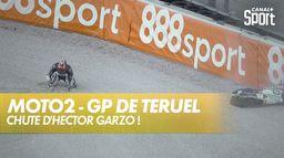 Chute d'Hector Garzo ! : Grand Prix de Teruel