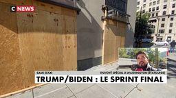 Washington se barricade à l'approche du verdict de l'élection présidentielle américaine
