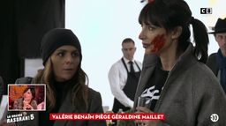 Valérie Benaïm piège Géraldine Maillet