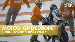 La pluie s'invite aux qualifications : Grand Prix d'Europe