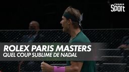 Zverev s'adjuge un premier set rondement mené : Nadal / Zverev - Demi-Finale du Rolex Paris Masters