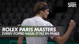 Zverev s'offre Nadal et file en FINALE ! : Nadal / Zverev - Demi-Finale du Rolex Paris Masters