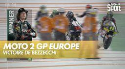 Victoire de Marco Bezzecchi : Grand Prix d'Europe Moto 2