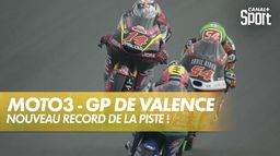 Tony Arbolino bat le record de la piste ! : Grand Prix de Valence