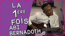Abi Bernadoth chante la première chanson qu'il a écrite ! | Première Fois