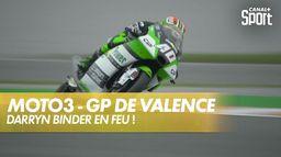Darin Binder pulvérise le record de Valence ! : Grand Prix de Valence