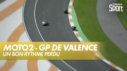 Jorge Navarro chute en fin de course ! : Grand Prix de Valence
