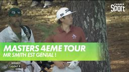 Cameron Smith est génial ! : Masters 4ème tour
