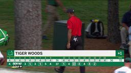 Incroyable un dix sur la carte de Woods : Masters 4ème tour