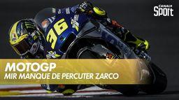 Quand Mir manque de percuter Zarco en version On Board : Grand Prix du Portugal