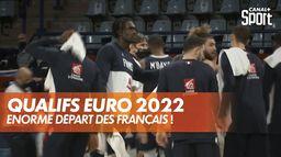 Qualifications Eurobasket 2022 : très bon départ des Français ! : Eliminatoires Euro 2022 masculin