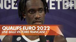 Basket : les bleus se rapprochent de la qualification ! : Eliminatoires Euro 2022 masculin