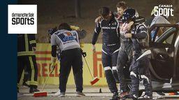 Retour sur la très grosse frayeur de Romain Grosjean avec Julien Fébreau