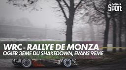 Ogier 3ème du shakedown : WRC - Rallye Monza