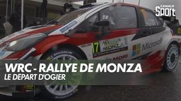 Le départ de Sébastien Ogier : Rallye de Monza