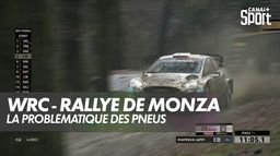 La problématique des pneus : WRC Monza