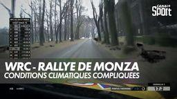 Des conditions climatiques compliquées : WRC - Rallye de Monza