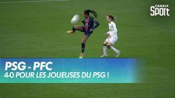 4-0 pour les joueuses du PSG ! : D1 Arkema