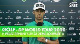 Victor Perez après sa deuxième journée : DP World Tour