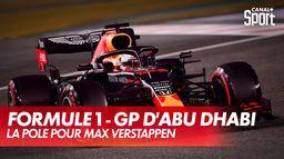 La pole pour Max Verstappen : Grand Prix d'Abu Dhabi
